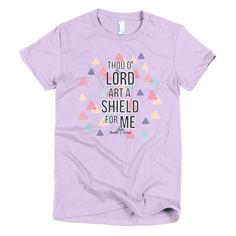 Thou Oh Lord Are A Shield (Adults) - Charlotte Rose Boutique -   - 1