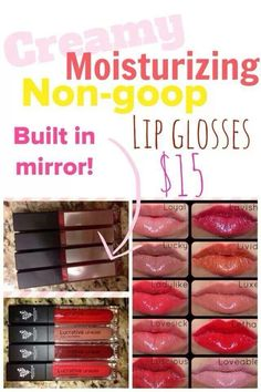 *YOUnique Lucrative Lip Glosses!! https://www.youniqueproducts.com/Yourtimetoshine/party/2020079/view