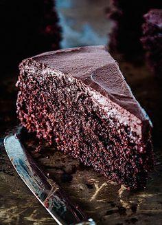Roasted Cocoa Chocolate Cake {gluten free}