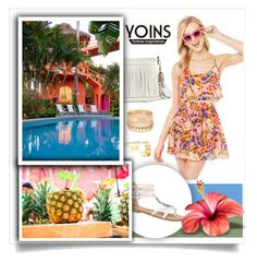 """""""Bright Summer...Yoins"""" by melissa-de-souza ❤ liked on Polyvore"""
