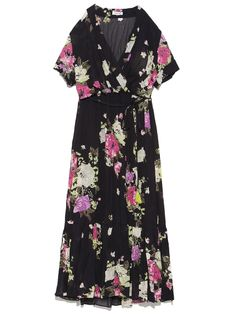 FRAY I.D Short Sleeve Dresses, Dresses With Sleeves, Stitch Fix, Wrap Dress, Fashion, Gowns With Sleeves, Moda, Sleeve Dresses, Wrap Around Dress