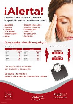 OBESIDAD Diabetes, Alzheimer, Acevedo, Magdalena, Dietitian, Healthy Dieting, Health And Beauty, Weights, Exercises