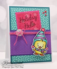 Your Next Stamp - Holiday Hello stamp and die sets  #yournextstamp