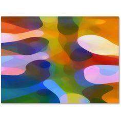 Trademark Fine Art Dappled Light Palm 3 inch Canvas Art by Amy Vangsgard, Size: 35 x 47, Multicolor