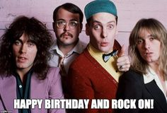 Cheap Trick HBD | HAPPY BIRTHDAY AND ROCK ON! | image tagged in rock and