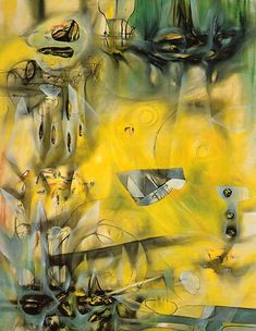 Roberto Matta - Here Sir Fire, Eat - 1943