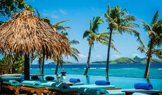 Fiji Luxury Island Discovery: 3 nights resort beachfront bure, meals, transfers.  Travelscene.com