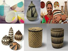 basket weaving from southern africa | ... of class in african way/ African Home Decorations.. | Kwetu Africa