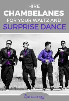 Hire Chambelanes For Your Waltz and Surprise Dance