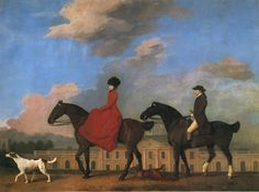 The painting by George Stubbs of John and Sophia Musters riding at Colwick Hall is showing the newly built hall in 1777. Description from reproductionsart.com. I searched for this on bing.com/images