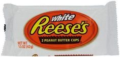 Hersheys Reeses White Chocolate Peanut Butter Cups 2 Pack - American Candy