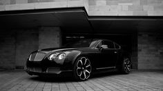 Tuning cars desktop wallpapers project kahn bentley gts black