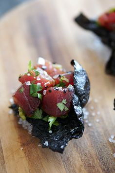 Nori Chips and Poke // HonestlyYUM