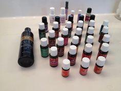 Essential Oils Quick Cheat Sheet