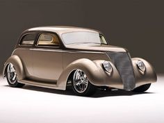 1937 Ford Tudor - Obtuse for all these Years, an Old Sedan gets a few Right Angles and Emerges as an Acute Street Rod.