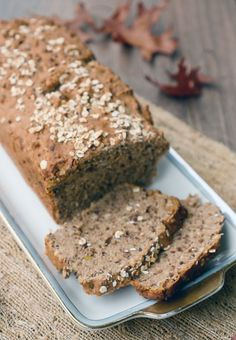 Schnelles Dinkel-Vollkornbrot - super saftig Spelled wholemeal bread with flaxseed - palate friend - Cooking Bread, Bread Baking, Cooking Rice, Pampered Chef, Law Carb, Flax Seed Recipes, Vegan Bread, Bread Bun, Food Blogs