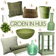 1000 images about groen on pinterest green cushions met and mint walls - Groen huis model ...