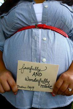 Pregnancy Bible verse.