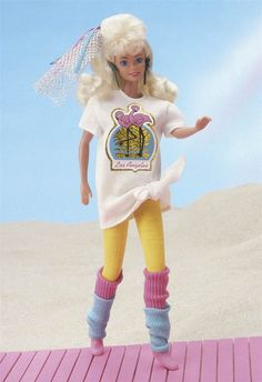 From the original hourglass figure and striped swimsuit to more inclusive representations of beauty, Barbie dolls have changed a lot over the years. Barbie 80s, Barbie Blog, Malibu Barbie, Vintage Barbie Dolls, Barbie World, Barbie And Ken, Barbie Barbie, Barbie Style, Barbie Birthday