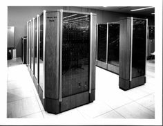 CDC 7600 (Supercomputer Designed by Seymour Cray), 1969.