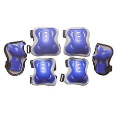 Eruner Children's Roller Blading [Knee Pads] - 6 Pcs Knee Wrist Elbow Pads Guard Skating Ski Biking Protective Gear (Blue & Grey) Eruner http://www.amazon.com/dp/B00Y2H3OWI/ref=cm_sw_r_pi_dp_5wZxvb16J7VH8
