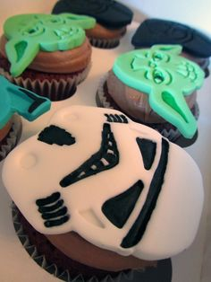 """IMUACAKES: Cupcakes de """"La guerra de las galaxias"""""""