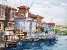 ORHAN GÜLER - Turkish Artist Painter (Watercolor)