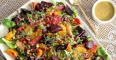 This summer, be the star of the barbecue, picnic, or potluck by bringing a cool, fresh salad... http://greatist.com/health/best-healthy-summer-salads-061713