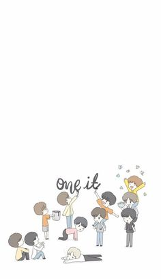 Kpop Iphone Wallpaper, Chibi Wallpaper, Cartoon Wallpaper, Kpop Backgrounds, Korean Boy Bands, Aesthetic Pastel Wallpaper, Kpop Fanart, Art Studies, Lock Screen Wallpaper