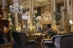 The Hotel Danielli lounge - Venice, Italy...next time I visit, I'm staying here AT LEAST one night!