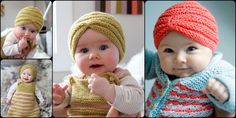 If you are looking for some gift shower ideas for baby shower, how about Knit Baby Turban Hat with Free Pattern? This is fun and stylish.
