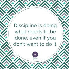 Discipline is the difference between dreaming of your goals and reaching your goals! How do you get on a disciplined workout schedule?