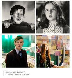 """....""""Your face is seared into my hearts"""" Amelia Pond"""