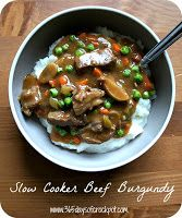 Recipe for Slow Cooker Beef Stroganoff (Gluten Free and No Cream of Soups involved) - 365 Days of Slow Cooking