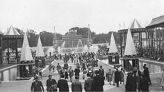 The Festival Gardens And Funfair In Battersea Park For The Festival Of Britain 1951
