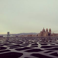 Marseille, seen from the Mucem museum