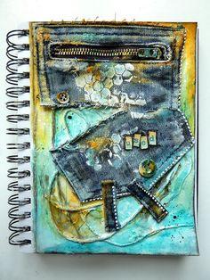 Les Créa de Laé: Dans ma BAL + Art Journal II #14
