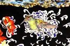 Kate Woodliff Odonnell Collage Fabric Artwork |Denver Fine Artist