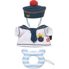 リラックマコスチューム(S)マリン #Rilakkuma -- sailor outfit ^__^