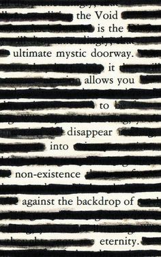 Image result for blackout poetry instructions