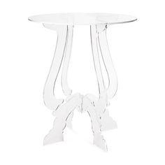 Crossed-Legs Methacrylate Table | ZARA HOME | clear, table, royal, living room