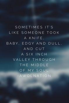 I'm On Fire. AWOLNATION. // #lyrics #awolnation
