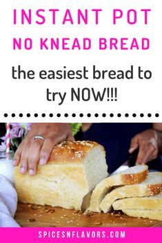 Homemade No Knead Bread recipe is the easiest bread you will be ever making. Just mix, proof, transfer to loaf pan and bake - it is that simple! Knead Bread Recipe, No Knead Bread, Eggless Baking, Savoury Baking, Vegetarian Comfort Food, Vegetarian Recipes Easy, Best Homemade Bread Recipe, Vegan Party Food, Cooking Bread