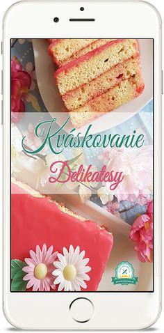 "e-kniha ""Kváskové Delikatesy"" Vanilla Cake, Breads, Desserts, Food, Vanilla Sponge Cake, Tailgate Desserts, Meal, Deserts, Essen"