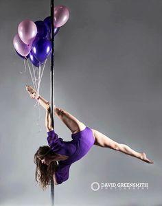 Charlotte Robertson. Fabulously talented pole athlete & instructor.