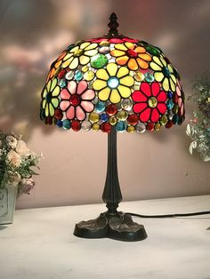Stained Glass Lamps, Glass Painting, Tiffany Style Table Lamps, Stained Glass Rose, Tiffany Lamp Shade, Stained Glass Lamp Shades, Mosaic Glass, Glass Lighting, Stained Glass Panels