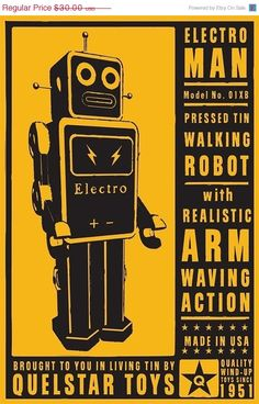 I love robots.