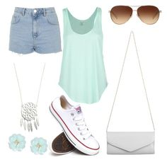 Simply Cute by kaylaherring97 on Polyvore featuring polyvore, fashion, style, Rip Curl, Topshop, Converse, Akira, Dettagli and Coach