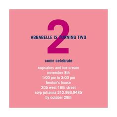 Turning: Pink - Birthday Party Invitations - Petite Alma for Tiny Prints in Watermelon Pink