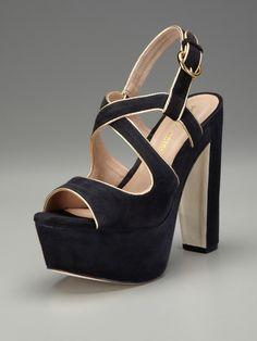 Gitta Platform Sandal by Pour La Victoire on Gilt